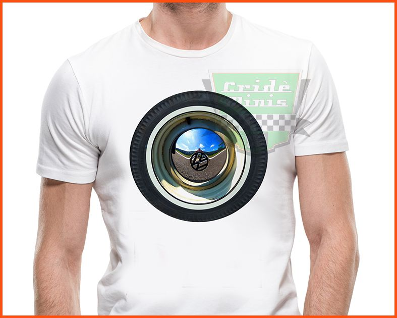 Camiseta - Roda Fusca!