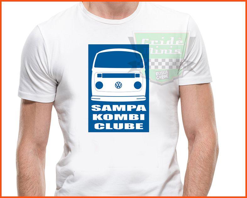 Camiseta - Sampa Kombi Clube Cliper