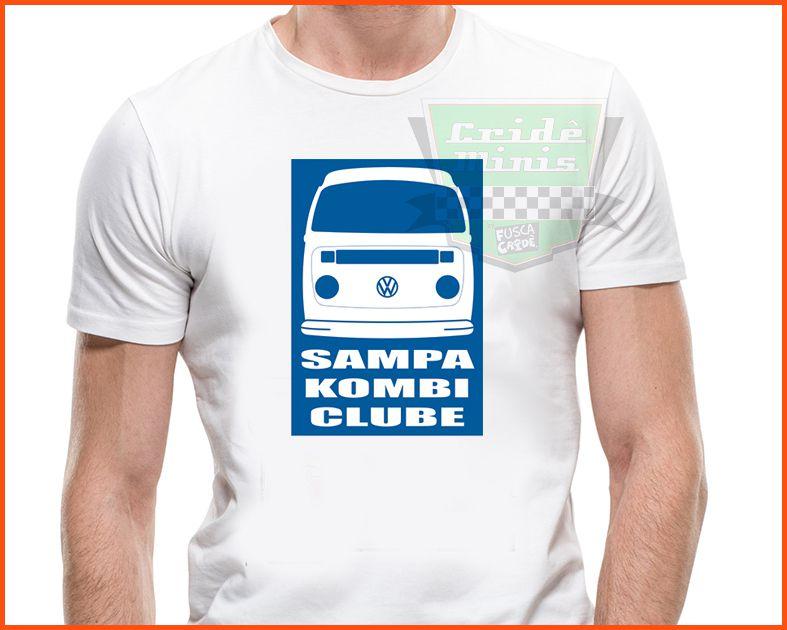 Camiseta - Sampa Kombi Clube Cliper Teto Alto