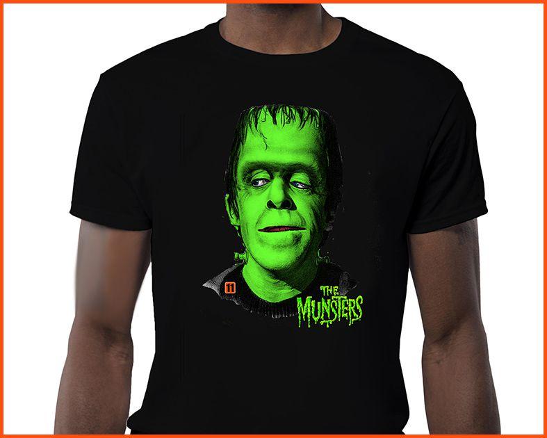 Camiseta - The Munsters Hermann
