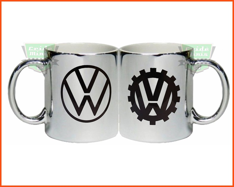 Caneca CROMADA VW