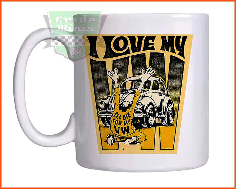 Caneca I love my VW