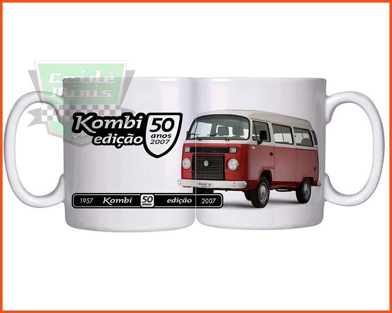 Caneca Kombi 50 anos
