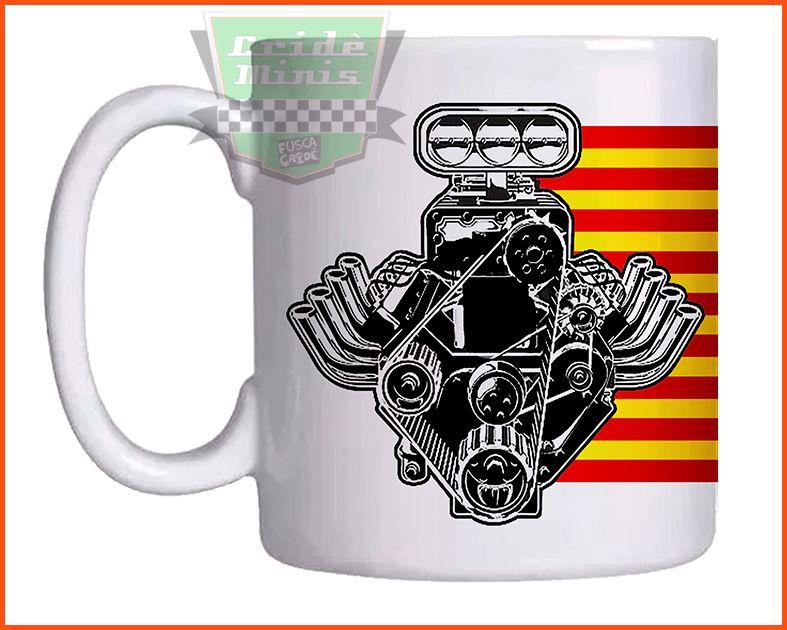 Caneca Motor V8oitão