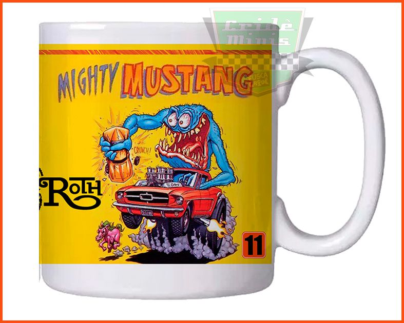 Caneca Mustang's Munsters