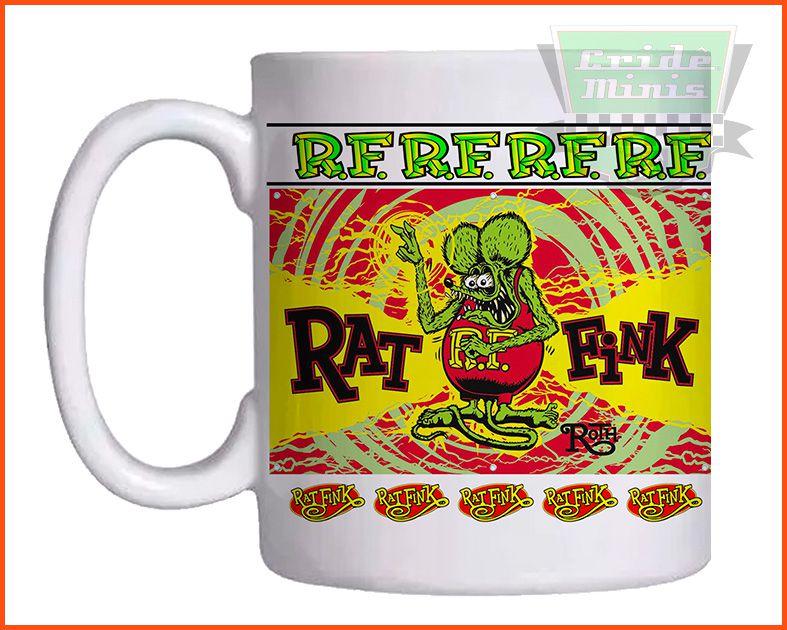 Caneca Rat Fink R.F.