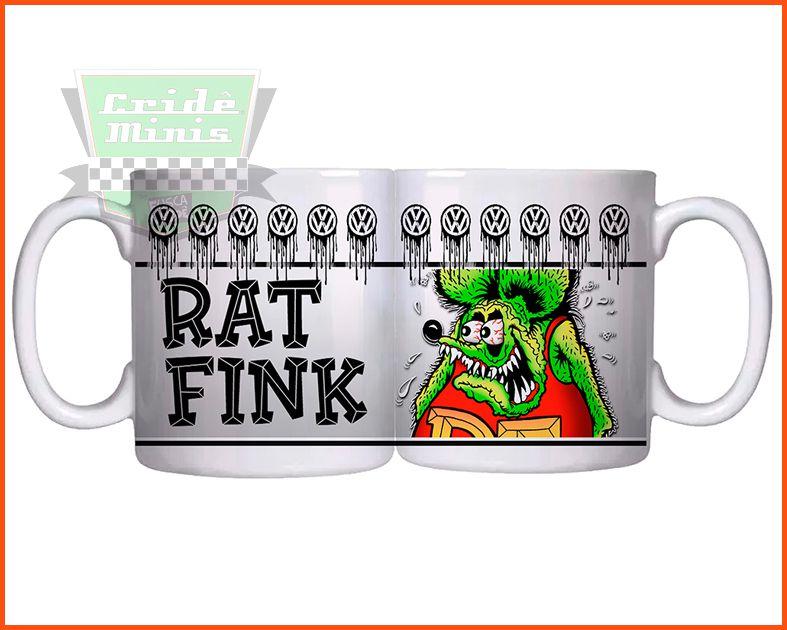 Caneca Rat Fink VW