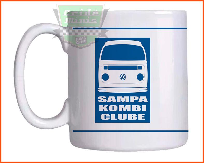 Caneca Sampa Kombi Clube Cliper Teto Alto