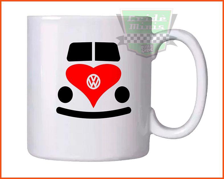Caneca VW Love! Infantil
