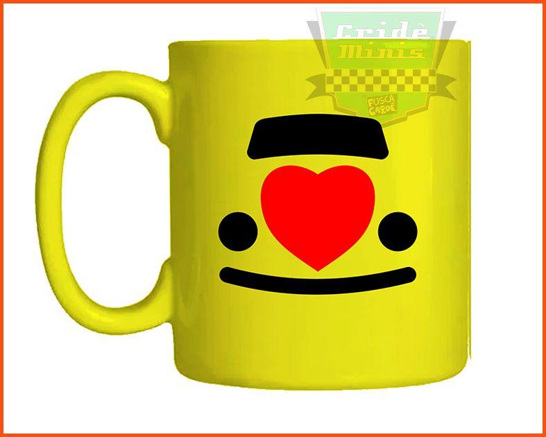 Caneca VW Love! Amarela Infantil