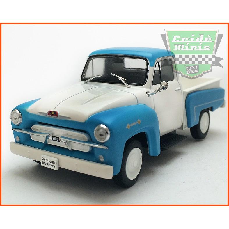 Chevrolet 3100 Picape 1958 - Carros Nacionais - escala 1/43