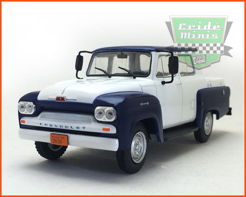 Chevrolet Alvorada 1962 - Carros Nacionais - escala 1/43