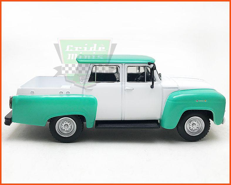Chevrolet Alvorada 3100 1962 - Carros Nacionais - escala 1/43
