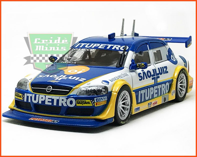 Chevrolet Astra Stock Car #9 2004 - Giuliano Losacco - escala 1/43