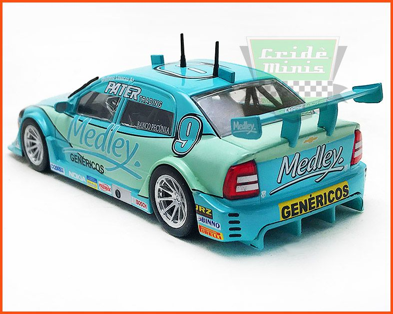 Chevrolet Astra Stock Car #9 2005 - Giuliano Losacco - escala 1/43