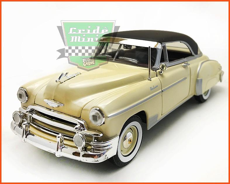 Chevrolet Belair 1950 Creme - Escala 1/24