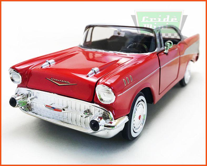 Chevrolet Belair 1957 Red - Escala 1/24