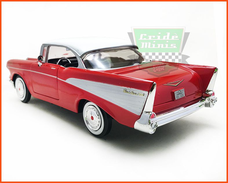 Chevrolet Belair 1957 Red - Escala 1/24