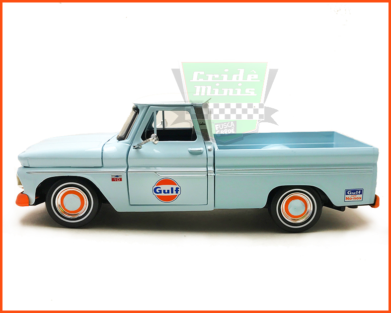 Chevrolet C10 1966 Equipe Gulf - escala 1/24
