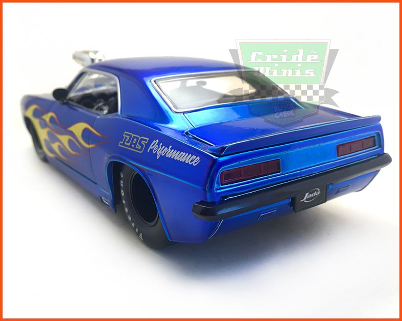 Chevrolet Camaro 1968 Muscle Car - Escala 1/24