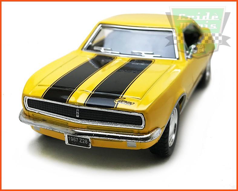Chevrolet Camaro SS 1967 Amarelo - escala 1/32