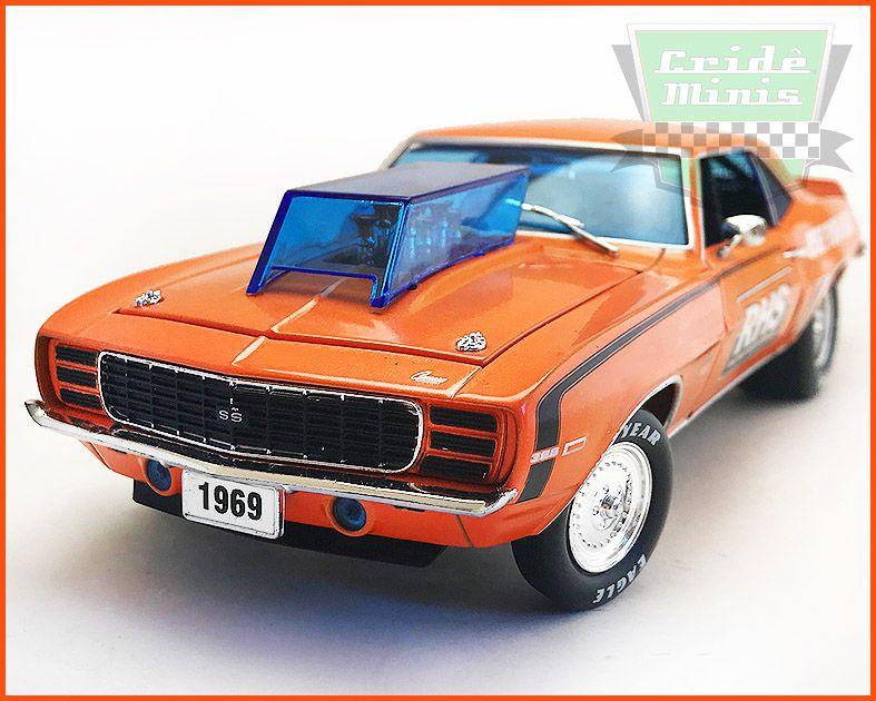 Chevrolet Camaro SS/RS 1969 EDIÇÃO LIMITADA 5.880 Unidades - escala 1/24