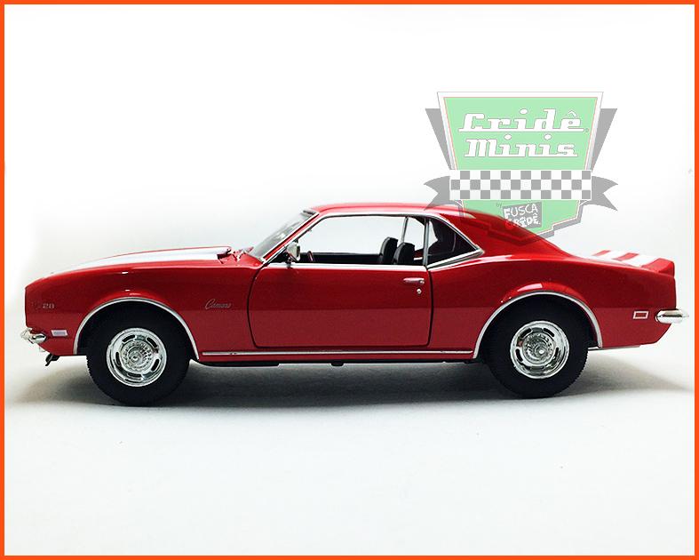 Chevrolet Camaro Z/28 1968 - escala 1/24