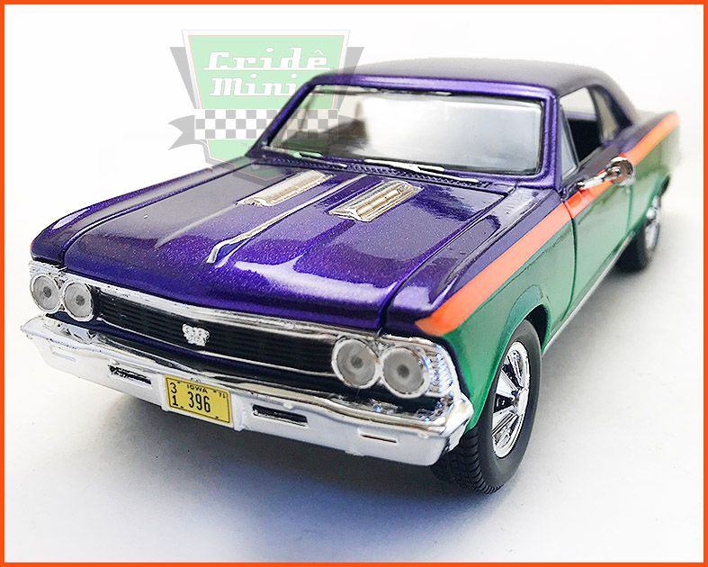 Chevrolet Chevelle SS396 1966  CUSTOM11- escala 1/24