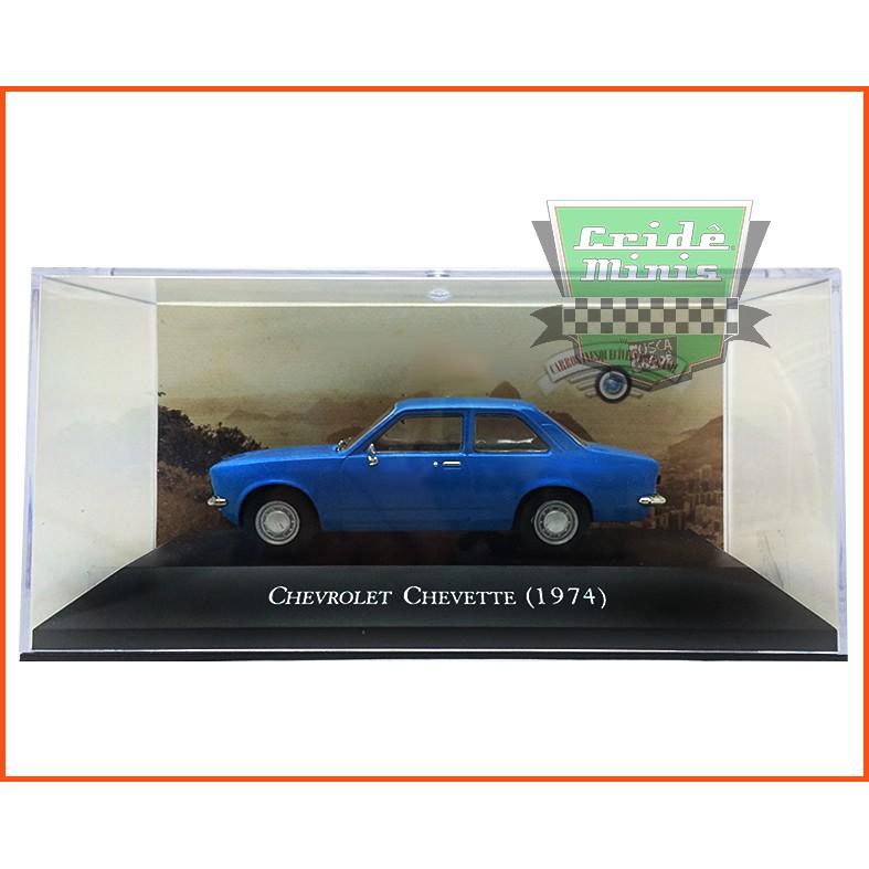 Chevrolet Chevette 1974 - Carros Nacionais - escala 1/43