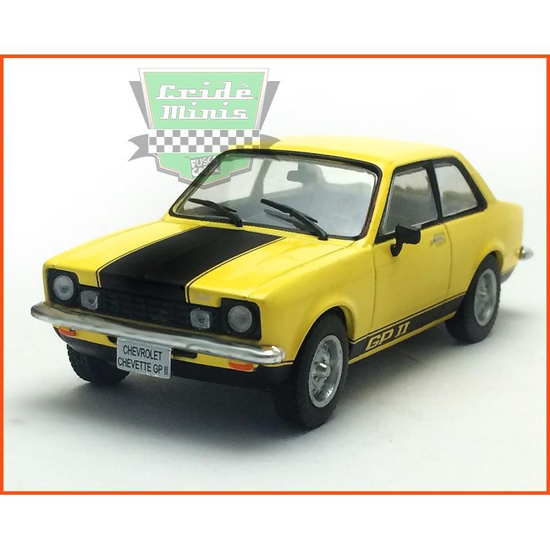 Chevrolet Chevette GPII 1977 - Carros Nacionais - escala 1/43