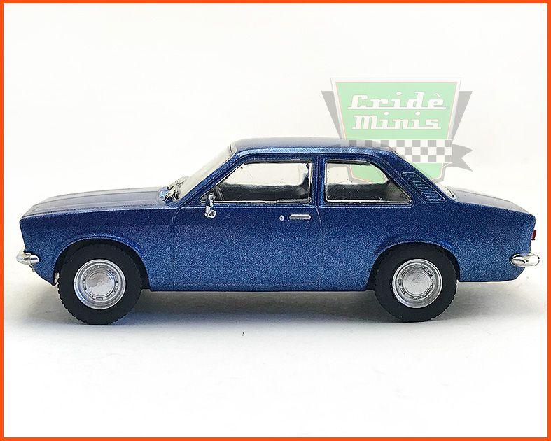 Chevrolet Chevette Luxo 1973 - Carros Nacionais - escala 1/43 = 9,5 cm de comprimento