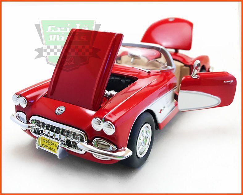 Chevrolet Corvette Conversível 1959 - escala 1/24