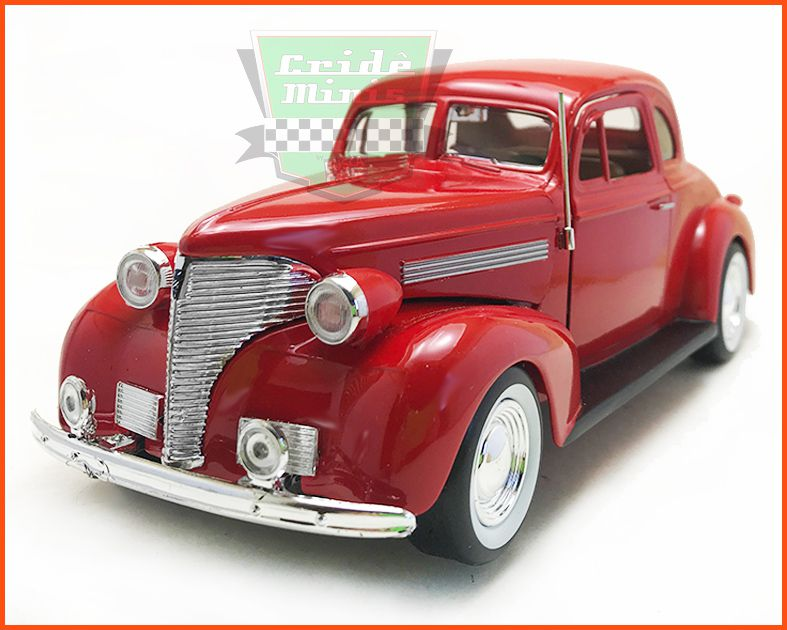 Chevrolet Coupe 1939 - Escala 1/24