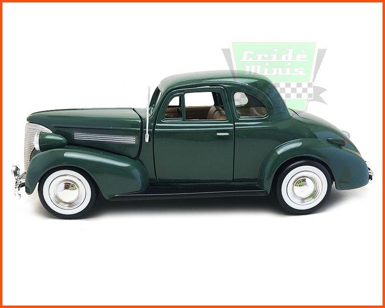 Chevrolet Coupe 1939 Green - Escala 1/24