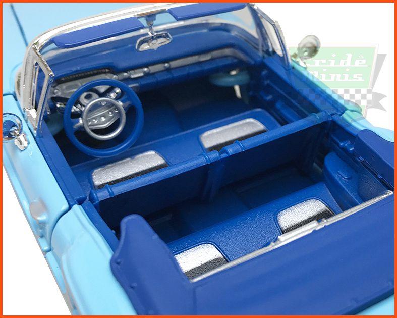 Chevrolet Impala 1958 Conversível c/ caixa e base - Escala 1/24