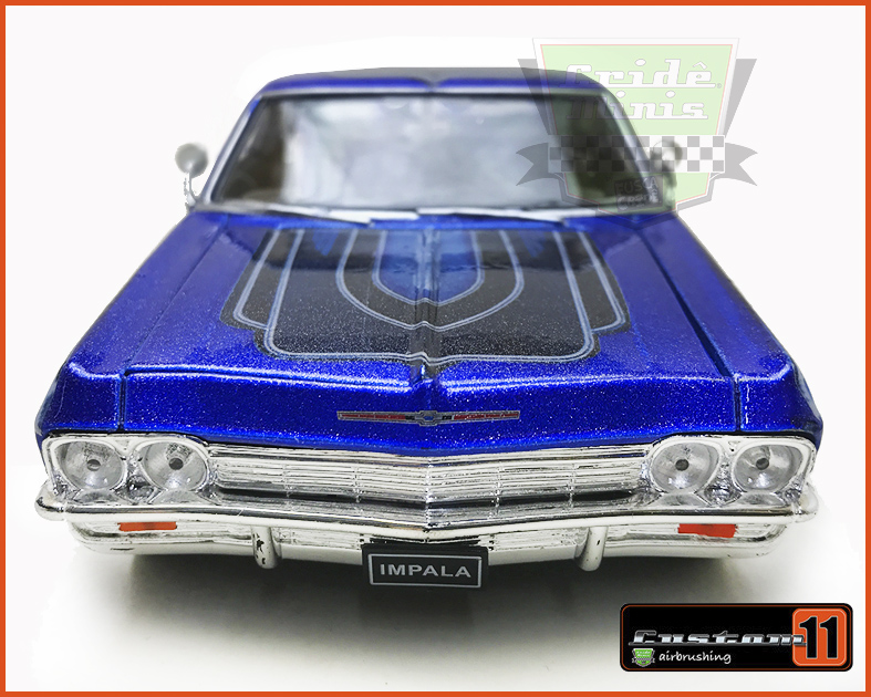 Chevrolet Impala 1965 LOW RIDER Customizado - escala 1/24