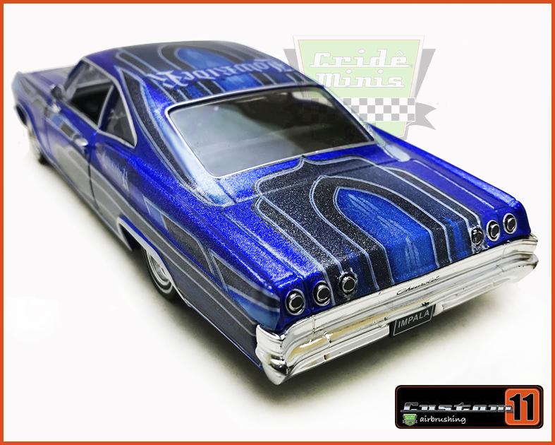 Chevrolet Impala 1965 LOW RIDER Customizado - escala 1/24