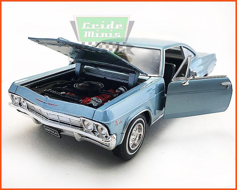 Chevrolet Impala SS396 1965 - Escala 1/24