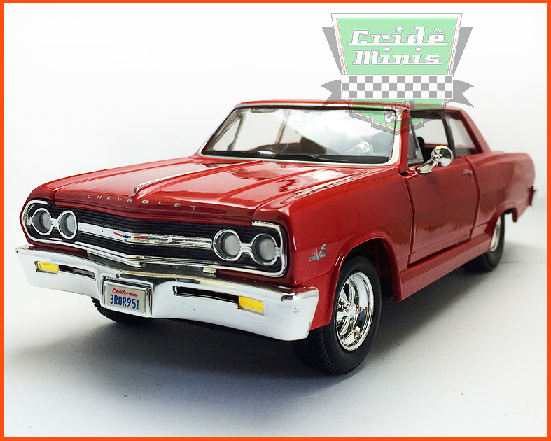 Chevrolet Malibu SS 1965 - escala 1/24