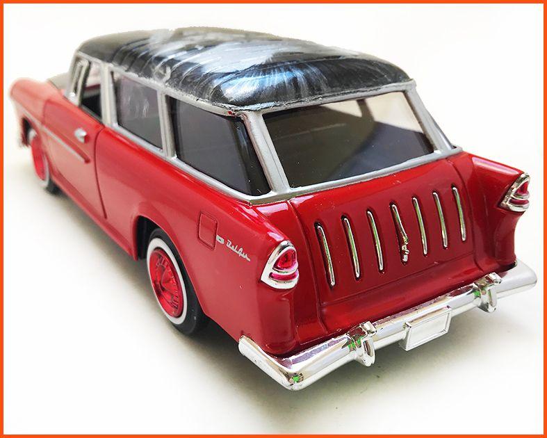 Chevrolet Nomad 1957 Coringa - Pintura Hidrográfica Peça Única - Escala 1/24