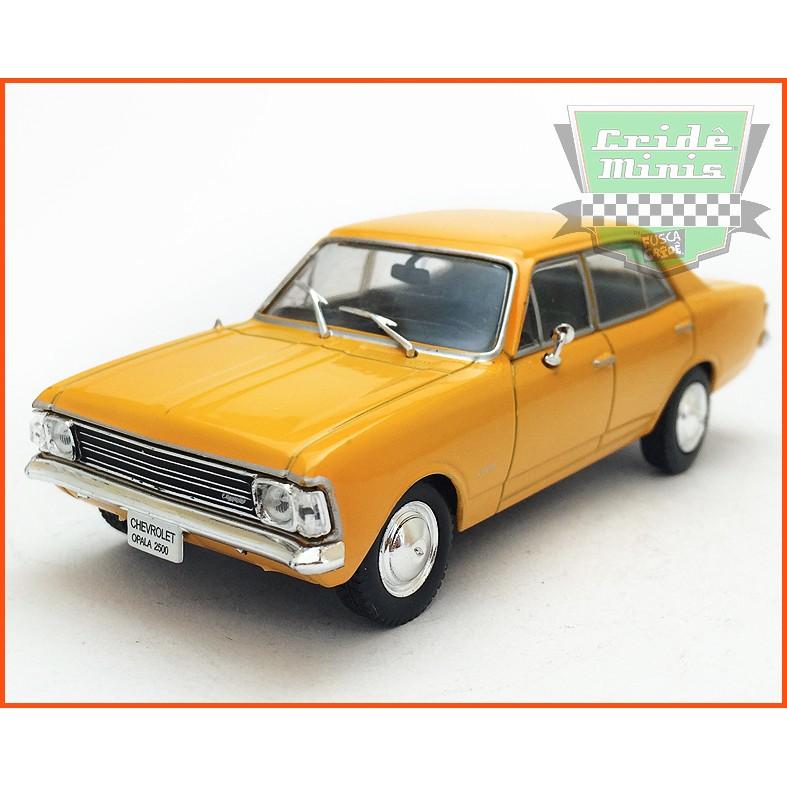 Chevrolet Opala 2500 1969 - Carros Nacionais - escala 1/43