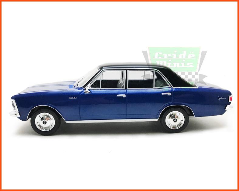 Chevrolet Opala 2500 1969 capota de vinil - Carros Nacionais - escala 1/24
