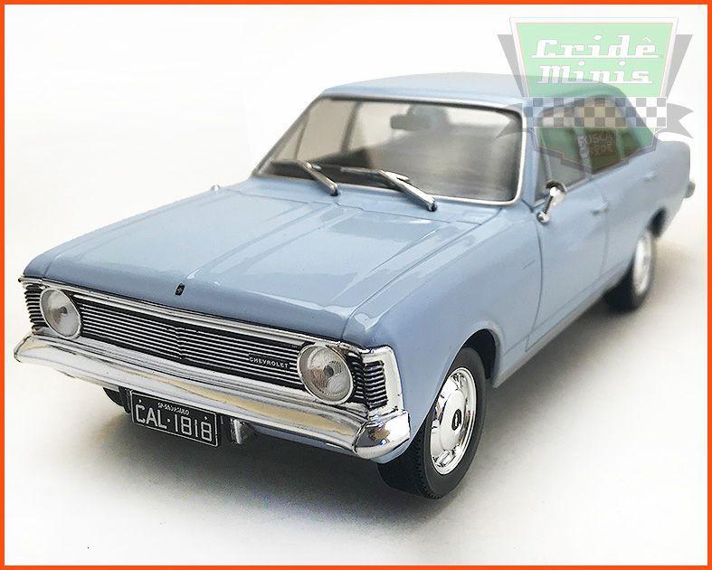Chevrolet Opala 2500 1969 - Carros Nacionais - escala 1/24