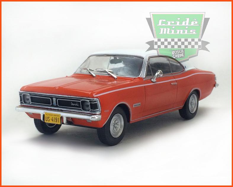 Chevrolet Opala Gran Luxo 1971 - Carros Nacionais - escala 1/43