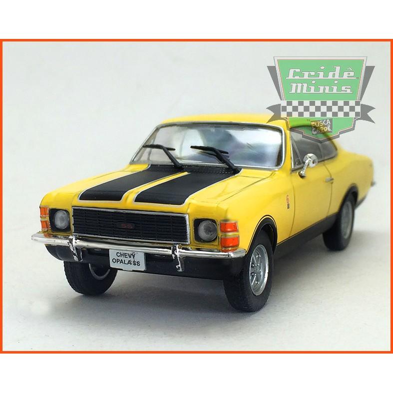 Chevrolet Opala SS 1976 - Carros Nacionais - escala 1/43
