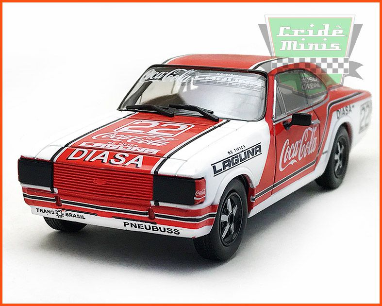 Chevrolet Opala Stock Car #20 1980 - Paulo Gomes - escala 1/43