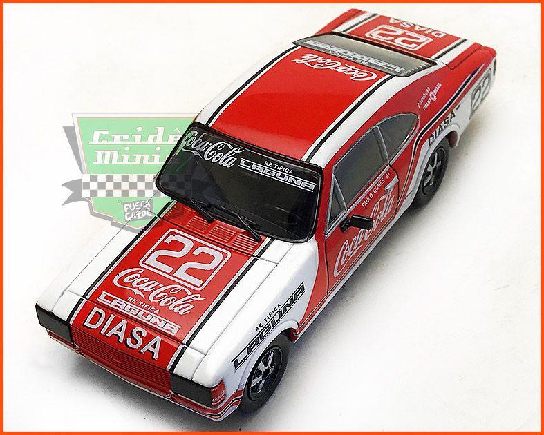Chevrolet Opala Stock Car #22 1980 - Paulo Gomes - escala 1/43