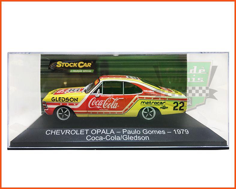 Chevrolet Opala Stock Car #22 1979 Paulo Gomes - escala 1/43