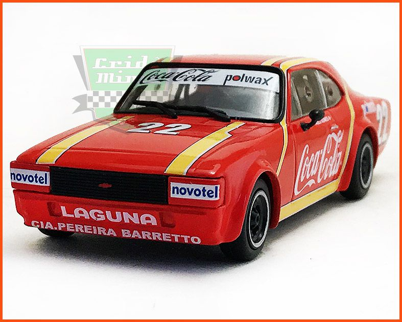 Chevrolet Opala Stock Car #22 1983 Paulo Gomes - escala 1/43