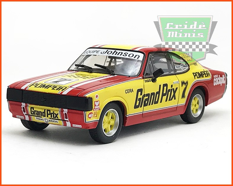 Chevrolet Opala Stock Car #7 1980 - Ingo Hoffman - escala 1/43